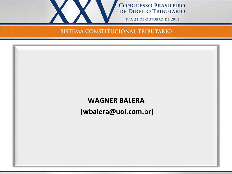 WAGNER BALERA [wbalera@uol.com.br]